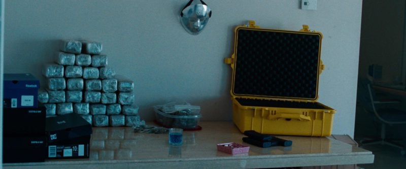 Reebok, Supra Footwear and Dolce&Gabbana Boxes in Spring Breakers (2012) Movie Product Placement