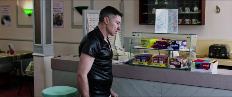 Ricola and Chewits in Blue Iguana (2018) Movie Product Placement
