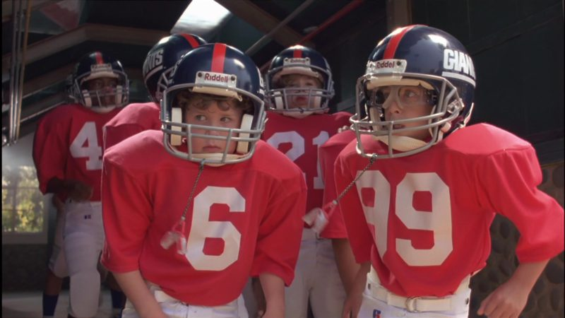 Riddell Football Helmets in Little Giants (1994) Movie Product Placement
