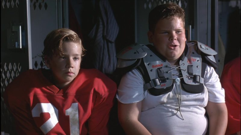 Riddell Football Shoulder Pads in Little Giants (1994) Movie Product Placement