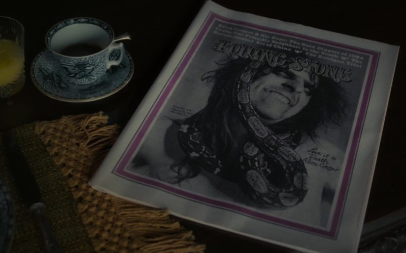 Rolling Stone Magazine in Dark Shadows