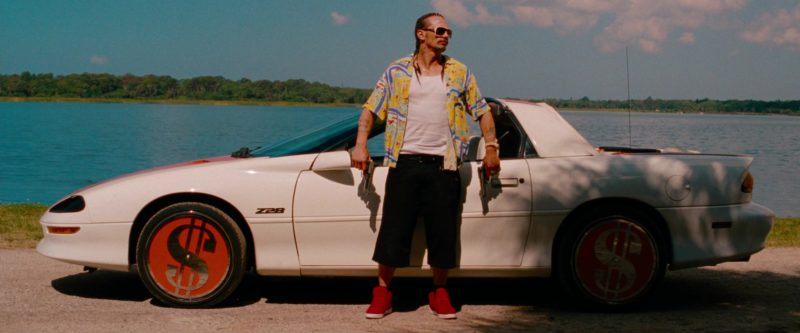 SUPRA Red Sneakers Worn by James Franco (Alien) in Spring Breakers (2012) Movie Product Placement