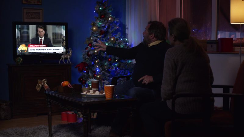 Samsung TV in A Christmas Prince: The Royal Wedding (2018) - Movie Product Placement