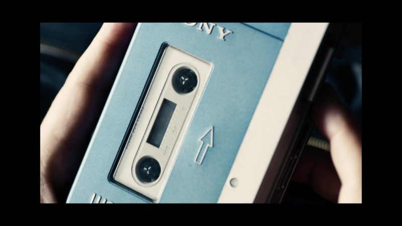 Sony Walkman Cassette Player Used by Fionn Whitehead in Black Mirror: Bandersnatch (2018) Movie Product Placement