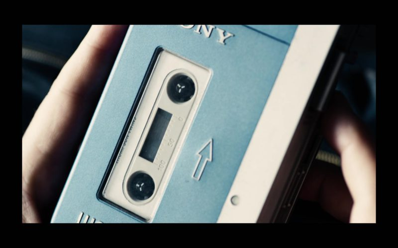 Sony Cassette Player Used by Fionn Whitehead in Black Mirror