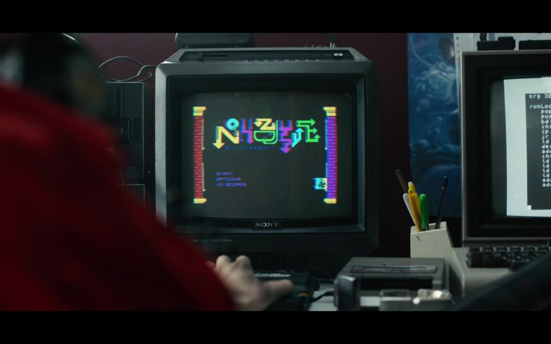 Sony Monitor Used by Will Poulter in Black Mirror (1)
