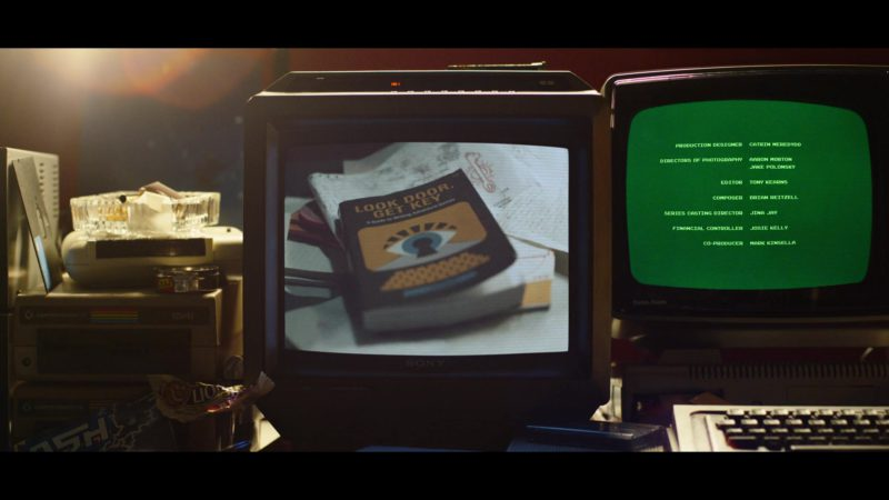 Sony Monitor and Commodore 1541 Computer in Black Mirror: Bandersnatch (2018) Movie Product Placement