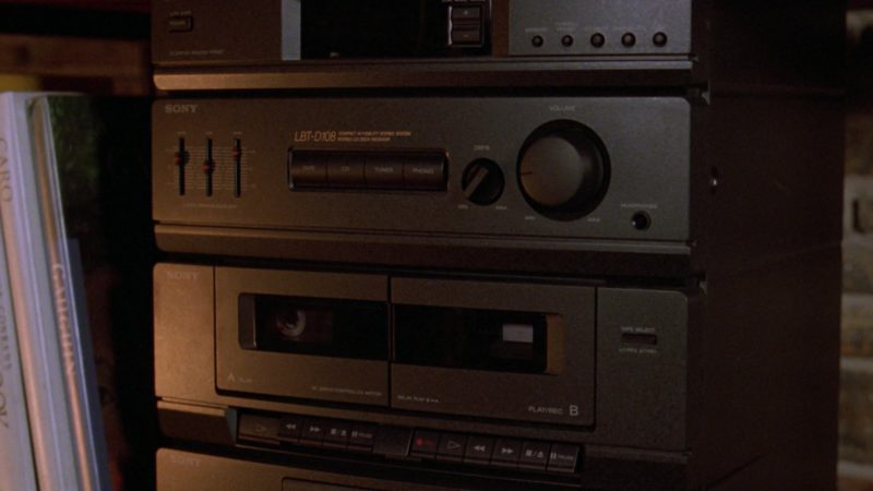 Sony Sound System in Wayne's World 2 (1993) Movie Product Placement