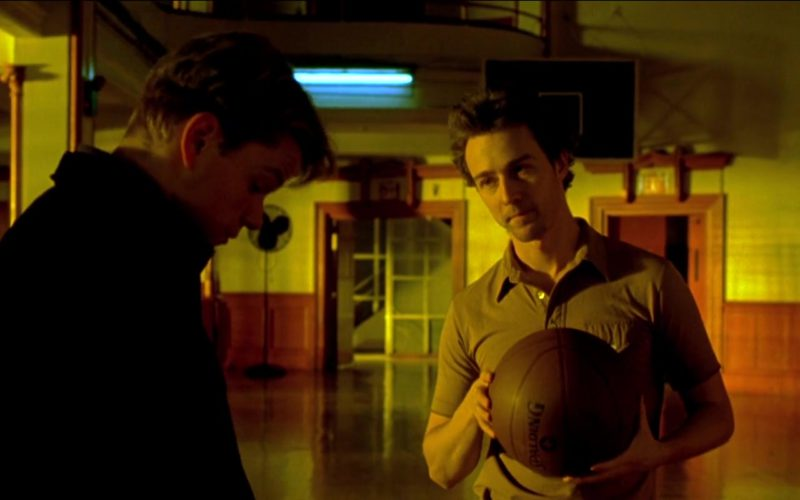Spalding Basketball Held by Edward Norton in Rounders (1)