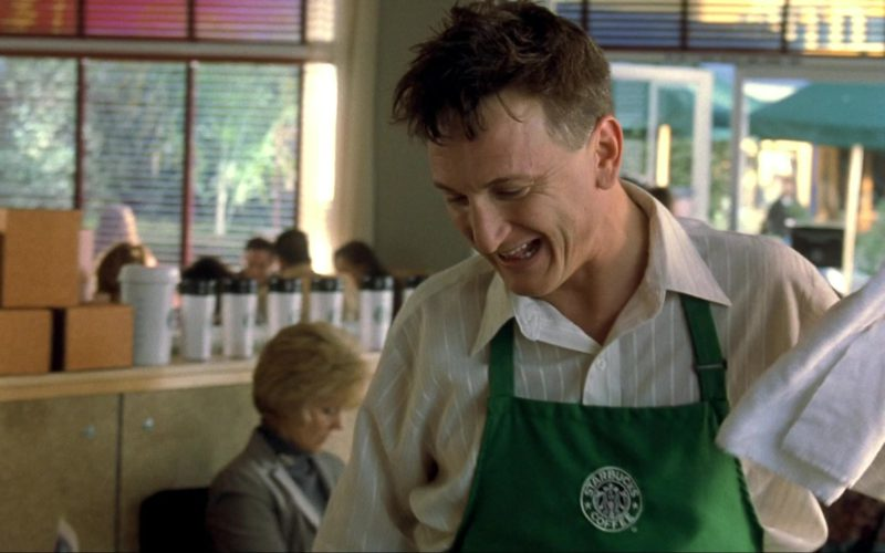 Starbucks Apron Worn by Sean Penn in I Am Sam (1)