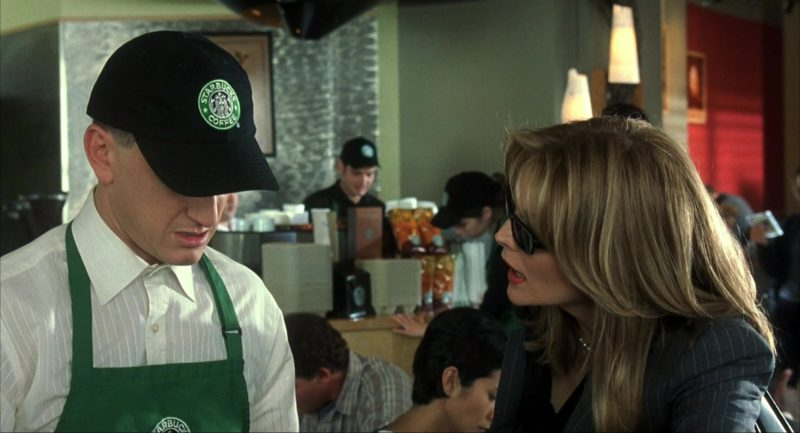 Starbucks Cap Worn by Sean Penn in I Am Sam (2001) Movie
