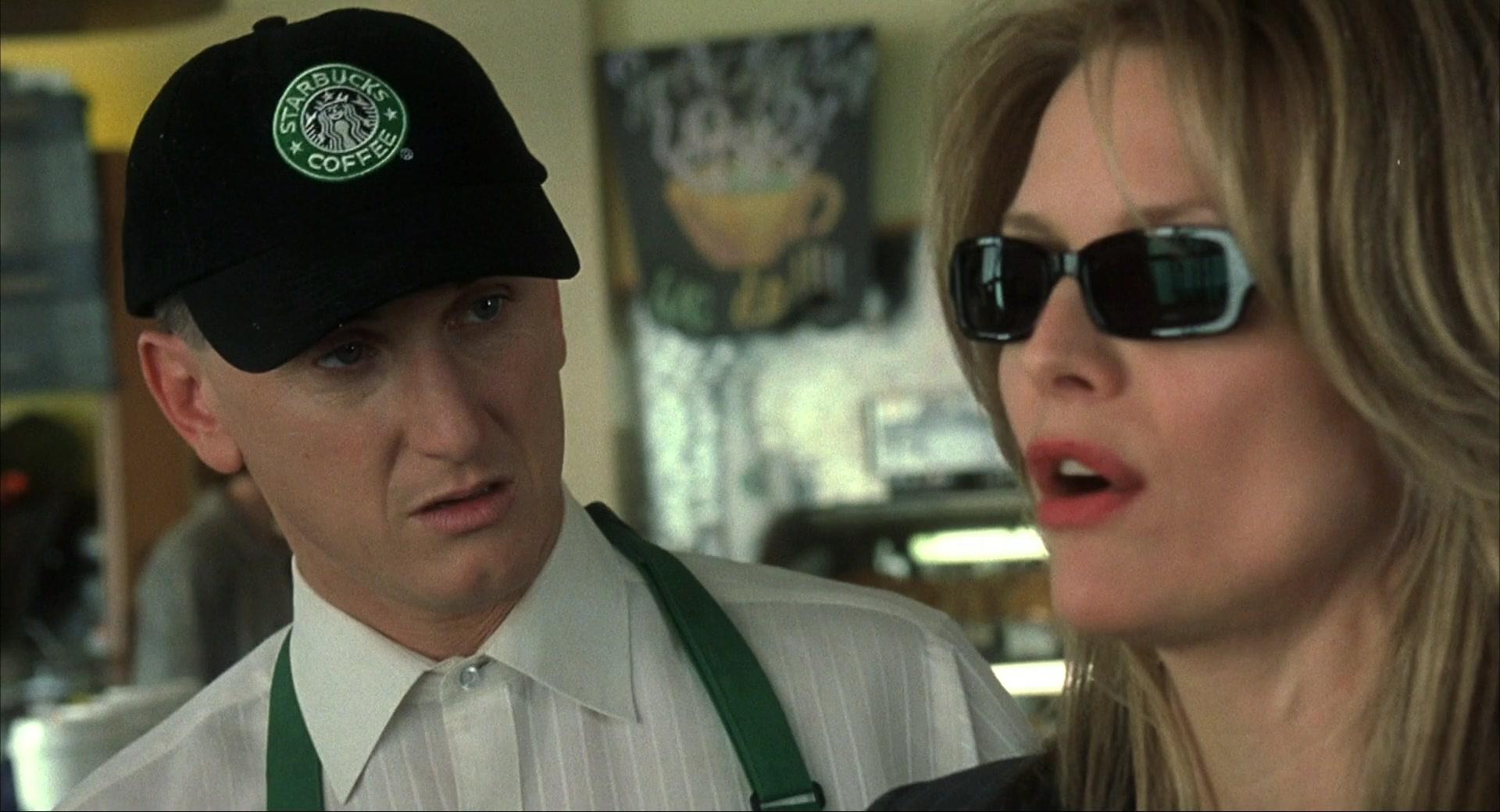 starbucks cap worn by sean penn in i am sam 2001 movie