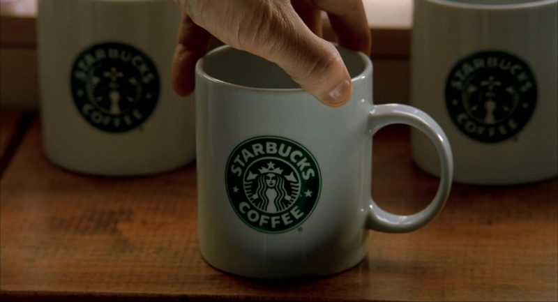 Starbucks Mugs in I Am Sam (2001) Movie Product Placement