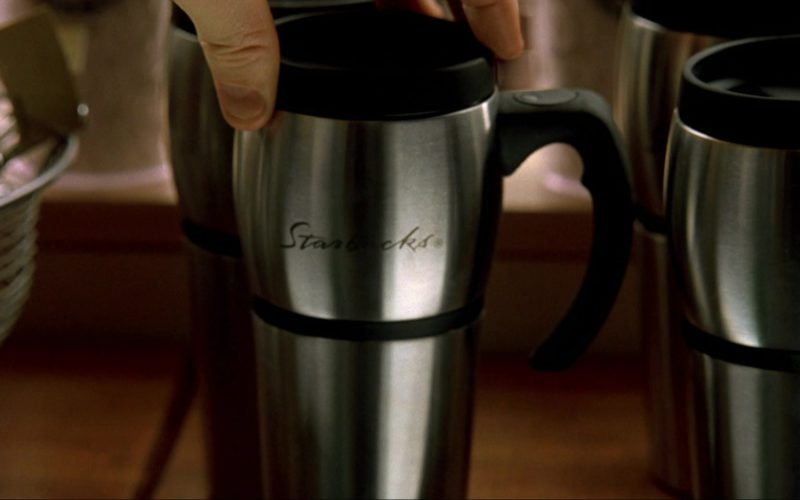 Starbucks Steel Tumblers in I Am Sam (1)