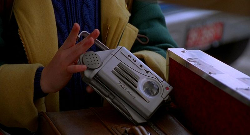 Talkboy Portable Variable-Speed Cassette Player And Recorder Used by Macaulay Culkin (Kevin McCallister) in Home Alone 2: Lost in New York (1992) Movie Product Placement