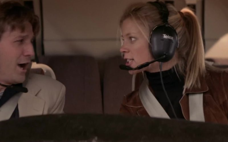 Telex Headset Used by Amy Smart in Rat Race