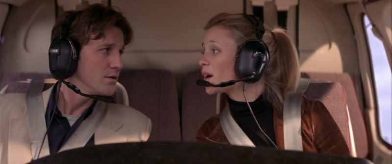 Telex Headset Used by Breckin Meyer in Rat Race (2001) - Movie Product Placement