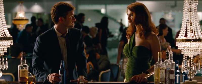 The Glenlivet Whisky and Bud Light Beer Drunk by Justin Timberlake in Runner Runner (2013) Movie Product Placement