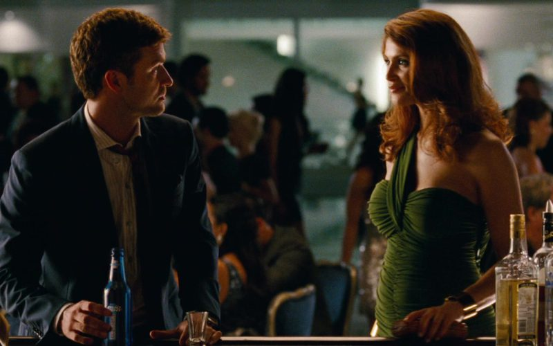 The Glenlivet Whisky and Bud Light Beer Drunk by Justin Timberlake in Runner Runner (1)