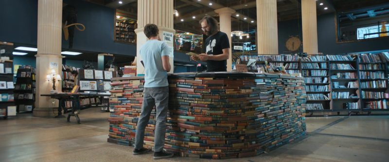 The Last Bookstore in Under the Silver Lake (2018) Movie Product Placement