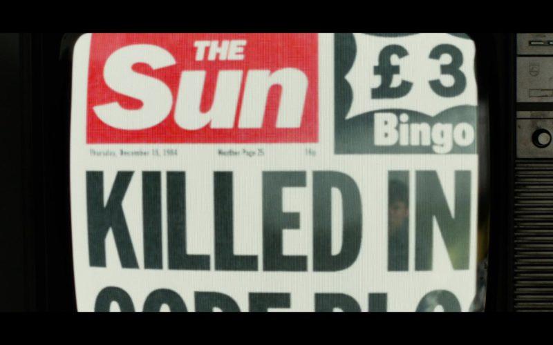 The Sun Newspaper in Black Mirror