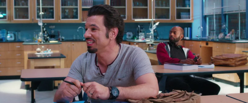 Timex Men's Expedition Rugged Analogue Quartz Watch with Chronograph Display and Plastic Strap Worn by Al Madrigal in Night School (2018) - Movie Product Placement
