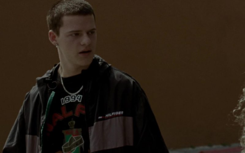 Tommy Hilfiger Jacket Worn by Lucas Hedges in Mid90s (1)