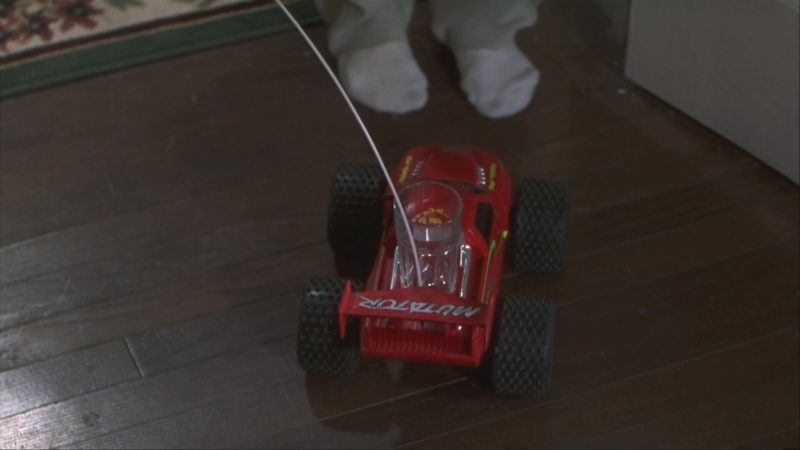 Tyco Mutator R/C Remote Control Car in Home Alone 3 (1997) Movie Product Placement
