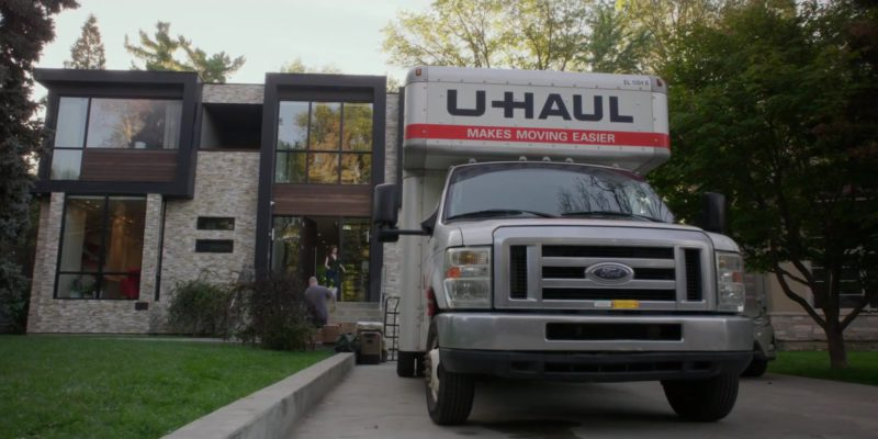 U-Haul in A Simple Favor (2018) - Movie Product Placement
