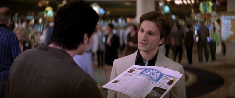 USA Today Newspaper in Rat Race (2001) Movie Product Placement