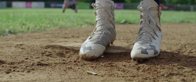 Under Armour Men's Baseball Cleats in All Square (2018) - Movie Product Placement