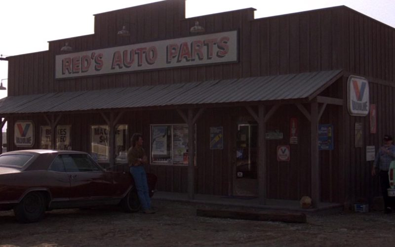 Valvoline Signs in Road House