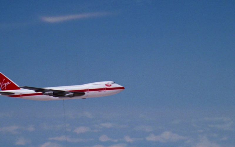 Virgin Atlantic International Airline Aircraft in Wayne's World 2 (1)