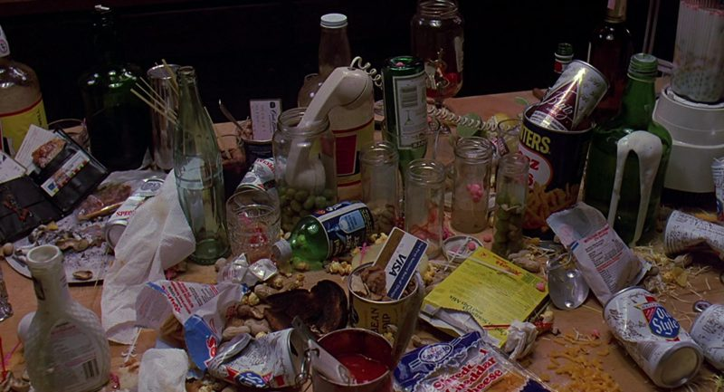 Visa Card, Old Style Beer, Coca-Cola Bottle in Sixteen Candles (1984) Movie Product Placement