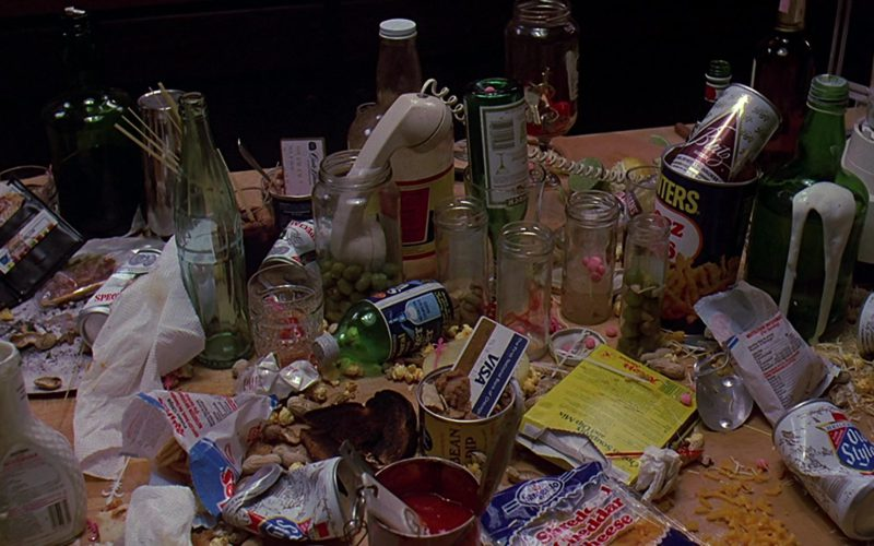 Visa Card, Old Style Beer, Coca-Cola Bottle in Sixteen Candles