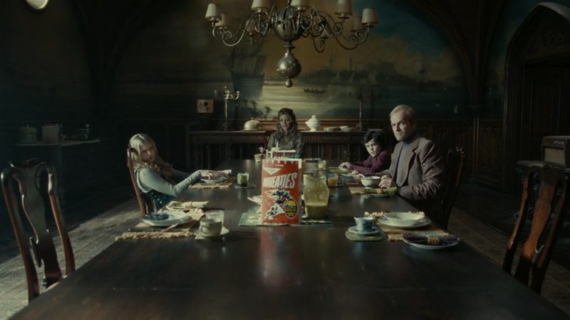 Wheaties Cereal in Dark Shadows (2012) - Movie Product Placement