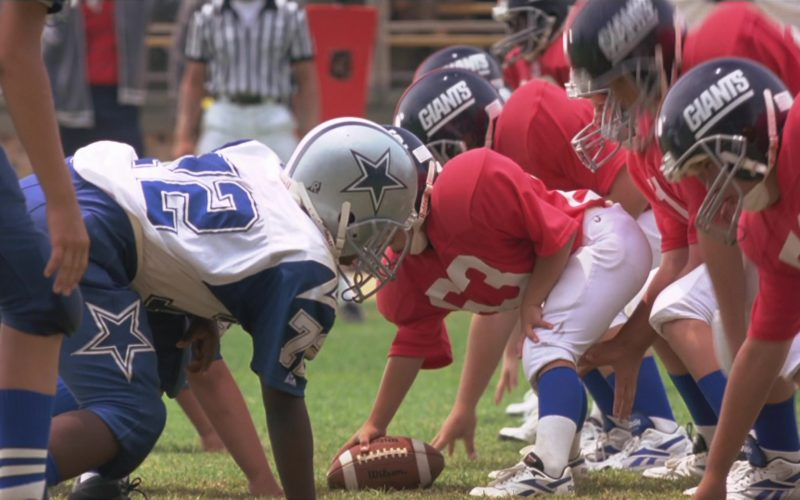 Wilson Football and Reebok Shoes in Little Giants