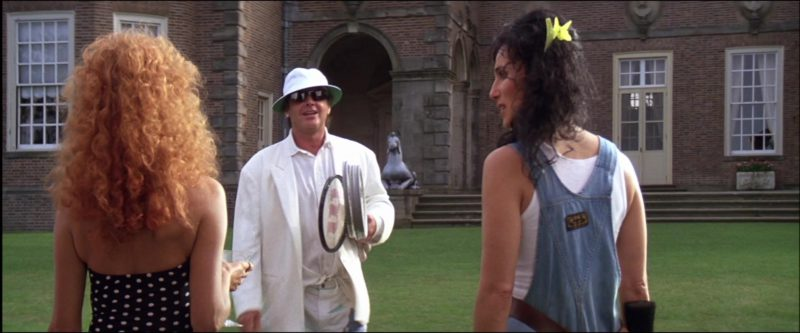 Wilson Tennis Racket Used by Jack Nicholson in The Witches of Eastwick (1987) Movie Product Placement