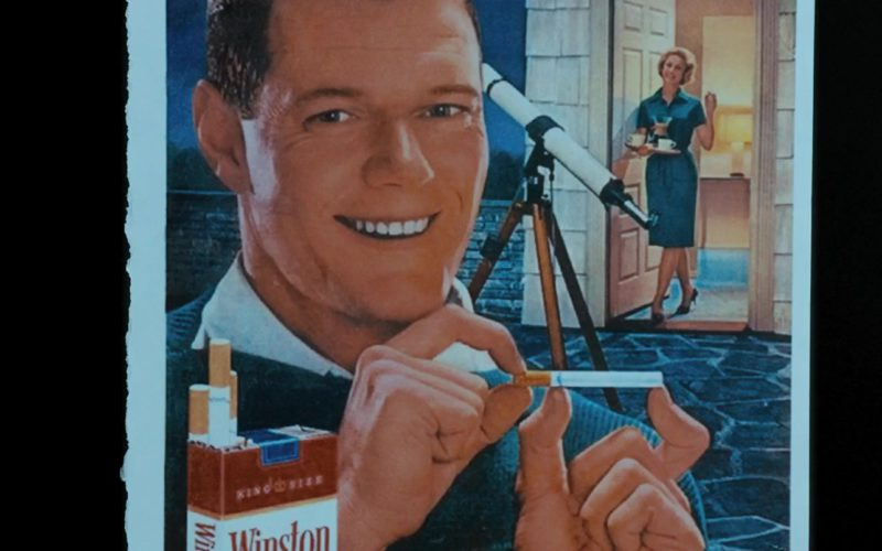 Winston Cigarettes in Under the Silver Lake
