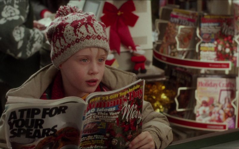 Woman's Day Magazine Held by Macaulay Culkin (Kevin McCallister) in Home Alone
