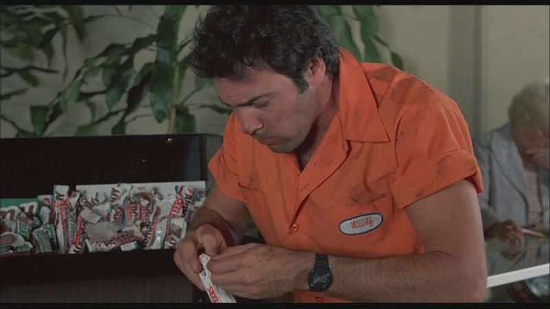 3 Musketeers Chocolate Bar in Bachelor Party (1984) - Movie Product Placement
