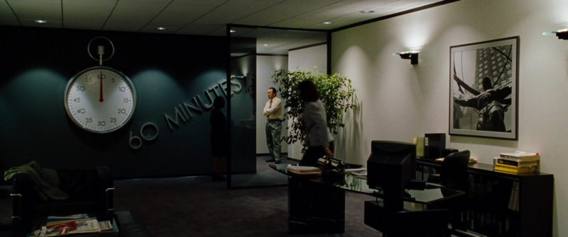 60 Minutes American Television Program in The Insider (1999) Movie Product Placement