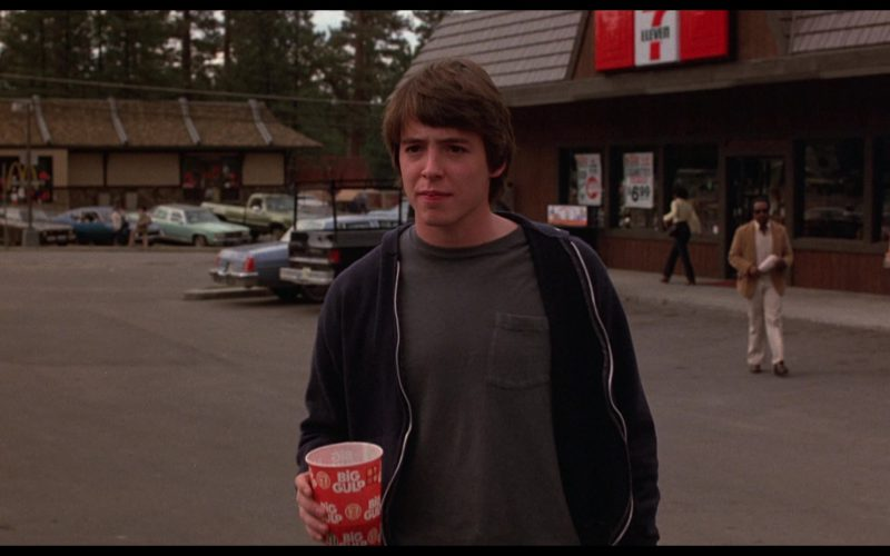 7-Eleven Big Gulp Drink Cup Held by Matthew Broderick in WarGames (3)