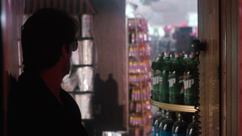 7UP Bottles in Cobra (1986) - Movie Product Placement