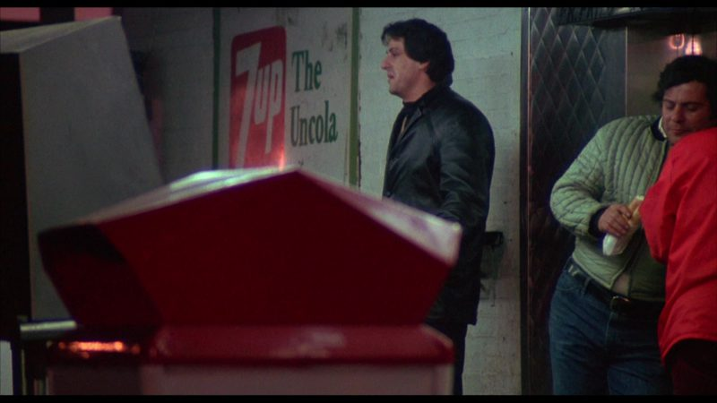 7Up Wall Painting in Rocky (1976) - Movie Product Placement