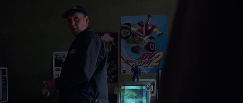 ATV Offroad Fury 2 Racing Video Game For PlayStation 2 Poster in Runaway Jury (2003) Movie Product Placement