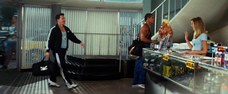 Adidas Black Tracksuit Worn by Mark Wahlberg in Pain & Gain (2013) Movie Product Placement