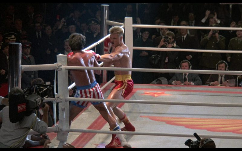 Adidas Boxing Red Shoes Worn by Dolph Lundgren (Captain Ivan Drago) in Rocky 4 (1)
