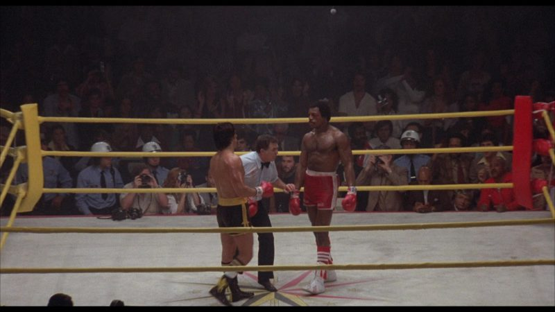 Adidas Boxing Shoes Worn by Carl Weathers (Apollo Creed) in Rocky 2 (1979) - Movie Product Placement