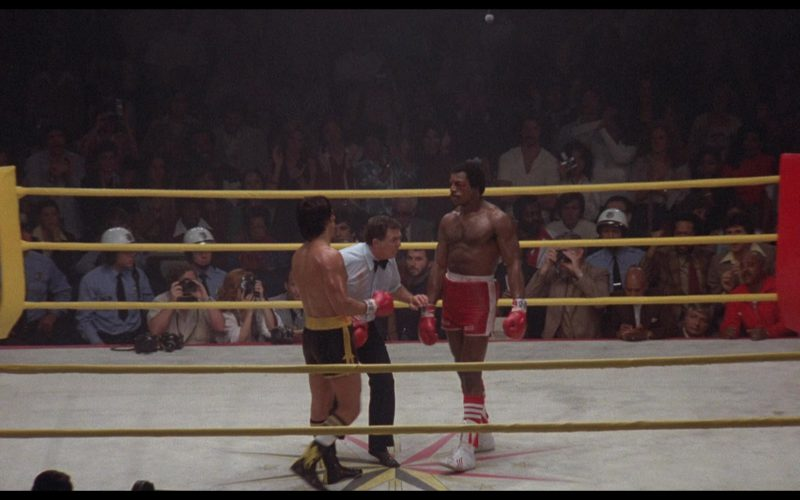 Adidas Boxing Shoes Worn by Carl Weathers (Apollo Creed) in Rocky 2
